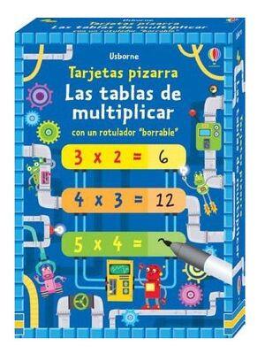 Las tablas de multiplcar