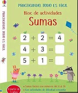 BLOC DE ACTIVIDADES SUMA