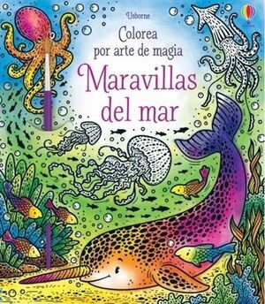 MARAVILLAS DEL MAR COLOREA ARTE MAGIA