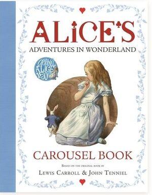 Alice's Adventures in Wonderland Carousel Book