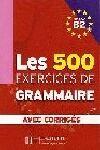 EXERCICES GRAMMAIRE (ALUMNO + CORRIGÉS B2)