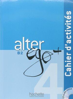 ALTER EGO 4+ B2 EJERCICIOS+CD