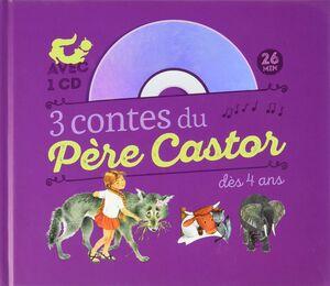 3 conts de Père Castor CD audio