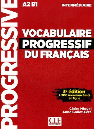 Vocabulaire Progressif Du Français. Niveau Intermédiare - 3ª Édition (+ CD)