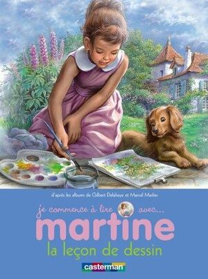 Martine et la leçon de dessin