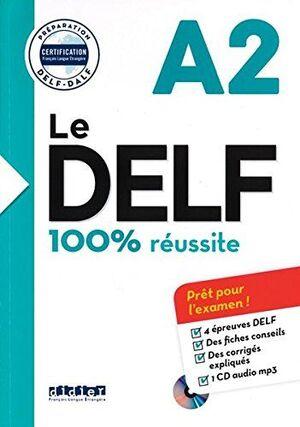 Nouveau delf a2 (ed. 2016) - livre + cd