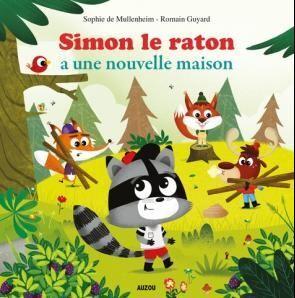 SIMON LE RATON. AUZOU