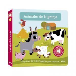 Mi primer libro imágnes para escuchar, animales de granja