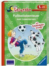 Fußballabenteuer zum Lesenlernen (Leserabe 1. Lesestufe ab 1. Klasse)