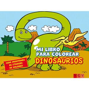 DINOSAURIOS LIBRO PARA COLOREAR