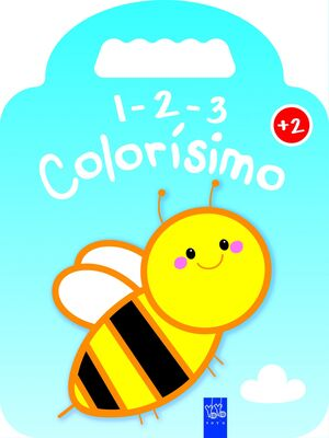 1-2-3 COLORISIMO +2 - ABEJA