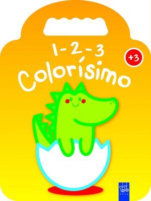 1-2-3 COLORISIMO +3 - DINO