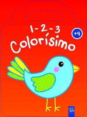 1-2-3 COLORISIMO. +4 PAJARO