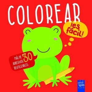 Colorear ¡es fácil! Rana
