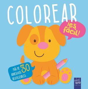 Colorear ¡es fácil! Perro