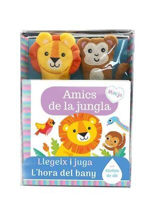LLIBRE BANY AMICS JUNGLA LLEGEIX Y JUGA