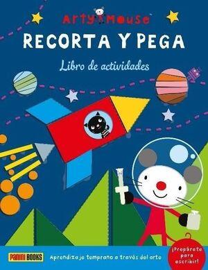 ARTY MOUSE - RECORTA Y PEGA
