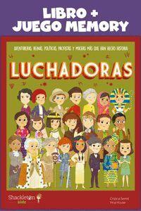 LUCHADORAS: LIBRO JUEGO MEMORY