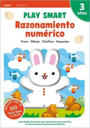 RAZONAMIENTO NUMERICO 3AÑOS 21 PLAY SMART GAKKEN