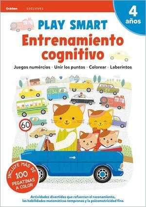 ENTRENAMIENTO COGNITIVO 4AÑOS 21 PLAY SMART GAKKEN