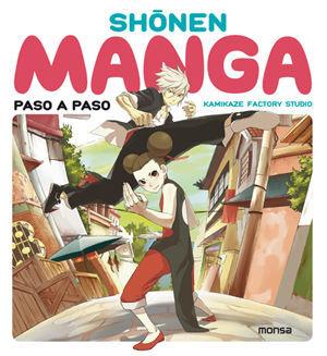 Shonen manga. Paso a paso