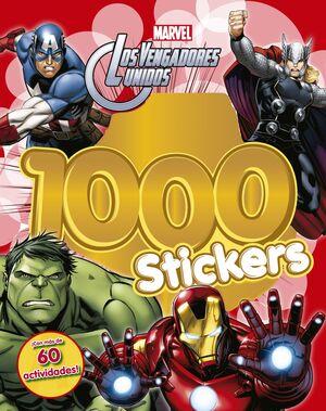 Los Vengadores. 1.000 Stickers