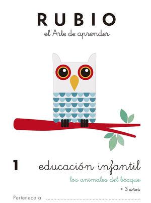 Educación Infantil 1. Los animales del bosque