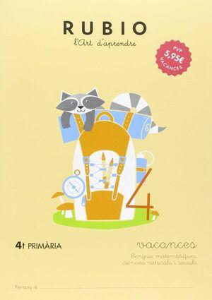 VACANCES - 4t PRIMÀRIA
