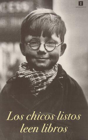 Cartel 'Los chicos listos leen libros'