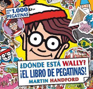DONDE ESTA WALLY LIBRO DE PEGATINAS