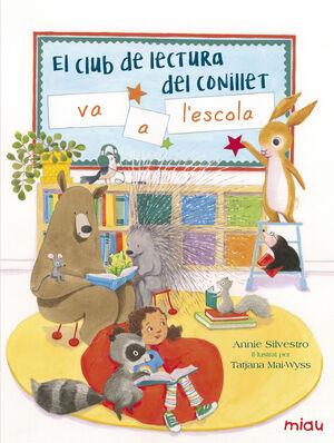 El club de lectura del conillet va a l'escola