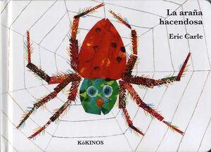 La araña hacendosa cartoné mediana