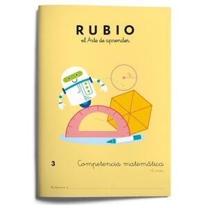 Competencia matemática RUBIO 3