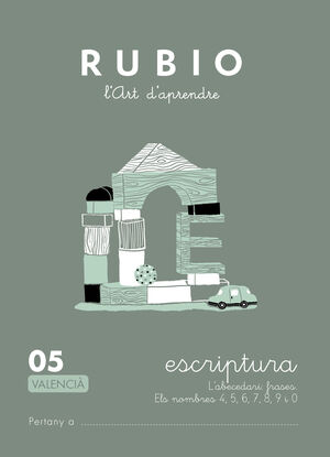 Escriptura RUBIO 05 (valencià)