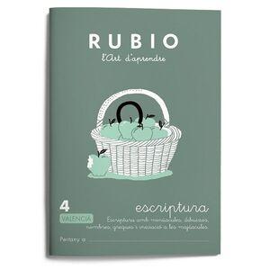 Escriptura RUBIO 4 (valencià)