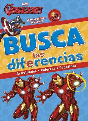Los Vengadores. Busca las diferencias