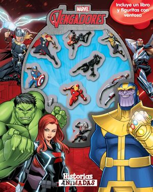 Vengadores Infinity War. Historias animadas