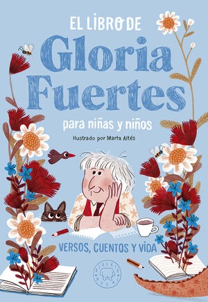 El libro de Gloria Fuertes para ni�as y ni�os
