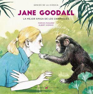Jane Goodall.La mejor amiga de los Chimpancés