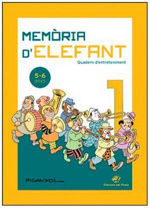 MEMÒRIA D' ELEFANT  5-6 ANYS
