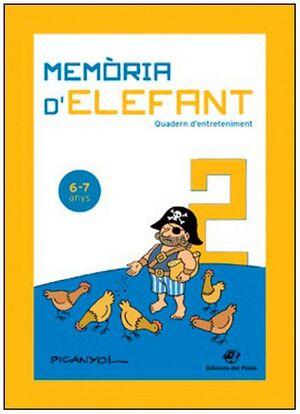 MEMÒRIA D' ELEFANT  6-7 ANYS