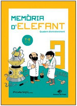 MEMÒRIA D' ELEFANT   7-8 ANYS
