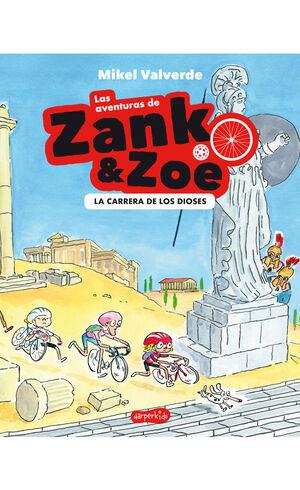 AVENTURAS DE ZANK Y ZOE 2 CARRERA DIOSES