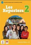 LES REPORTERS 2 A1.2 LIVRE + CD