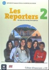 LES REPORTERS 2 A1.2 CAHIER + CD
