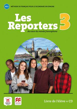 Les Reporters 3 A2.1 Livre + CD