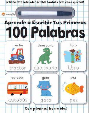 Aprende a escribir tus primeras 100 palabras