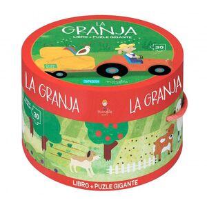 La Granja. Cajas redondas. Con puzzle. Edic. ilustrado (Español)