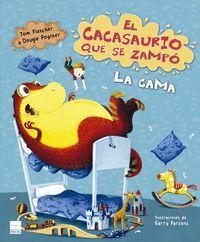 CACASAURIO QUE SE ZAMPÓ LA CAMA, EL