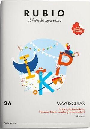 MAYÚSCULAS RUBIO 2A